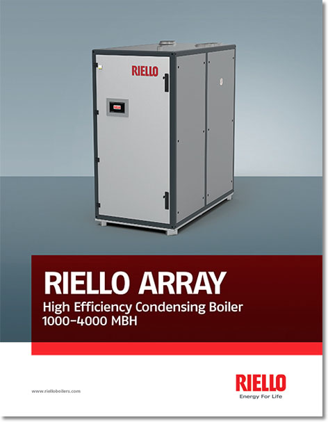 COMMERCIAL BOILER ARRAY